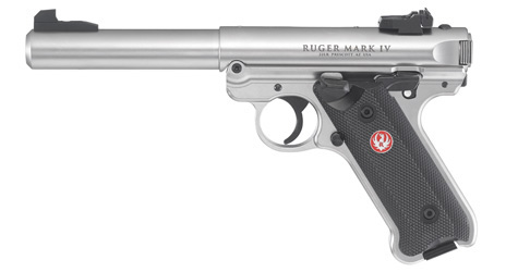 Pistole Ruger MKIV Stainless
