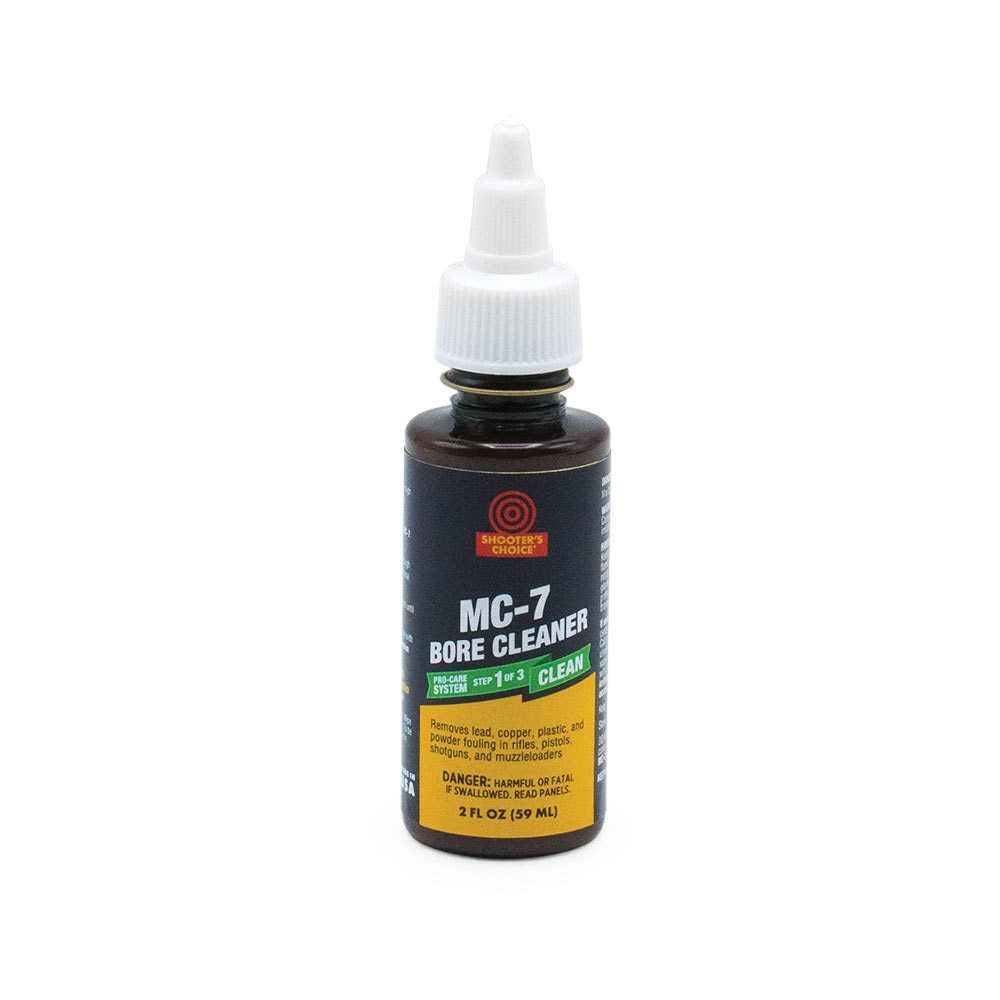 Shooter Choice MC #7 Firearms Bore Cleaning Solvent (60ml)