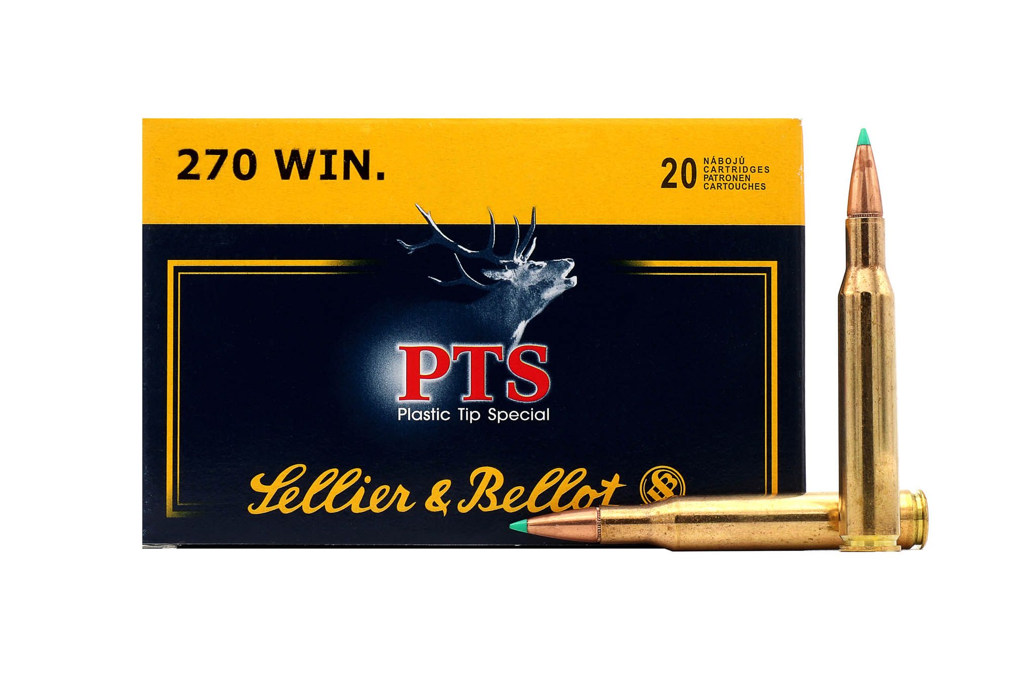 Náboj Sellier & Bellot .270 Win., 150gr/9,70g, PTS