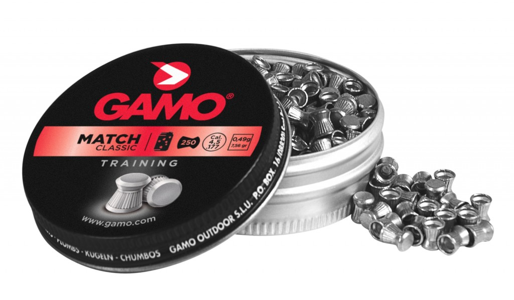 Diabolky Gamo Match 4,5 mm (250 ks)