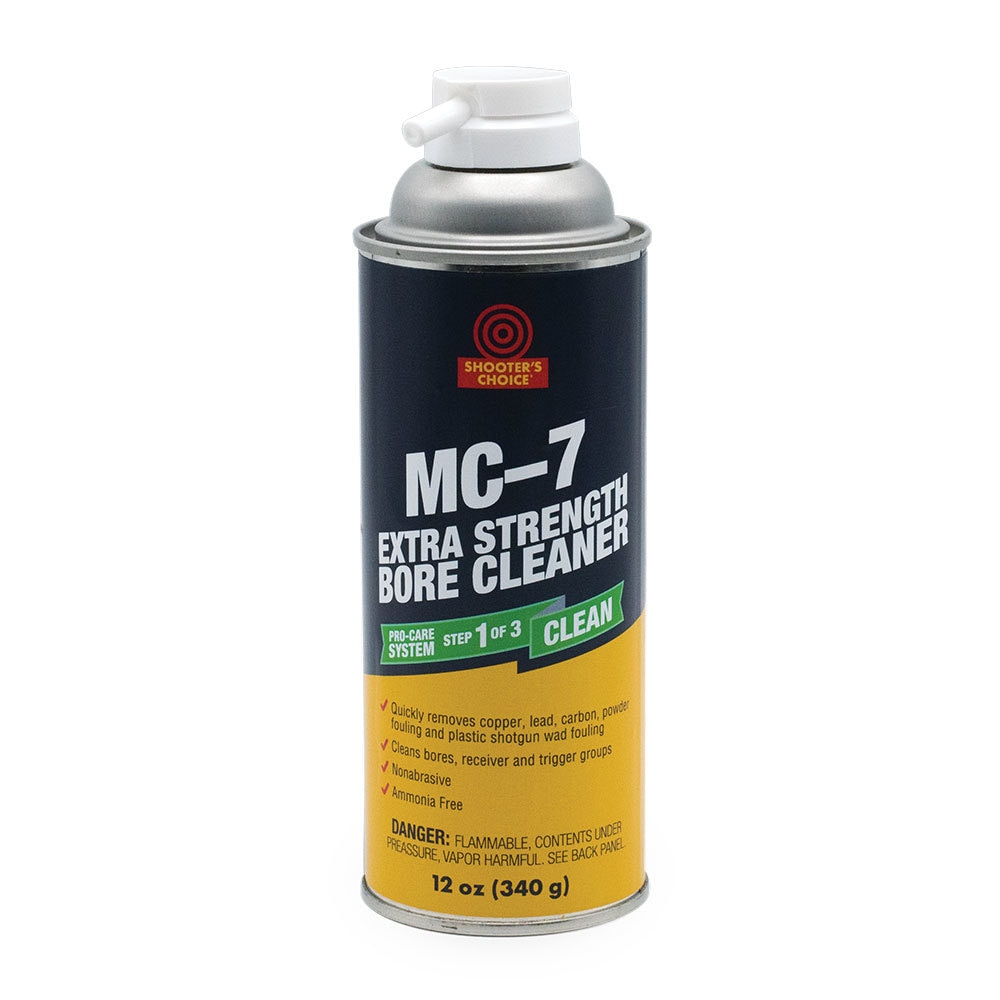 Shooter Choice MC #7 Extra Strength Bore Cleaner (355ml)
